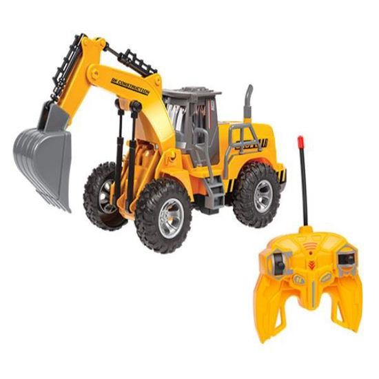 Kid's 1:30 R/C Construction Excavator