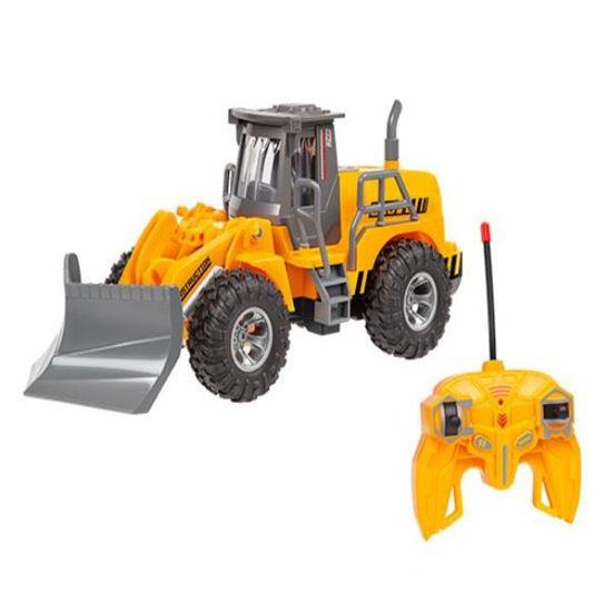 Kid's 1:30 R/C Construction Plow Wheel Loader