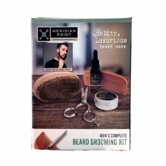 Men's Beard Grooming Kit-12 Pcs