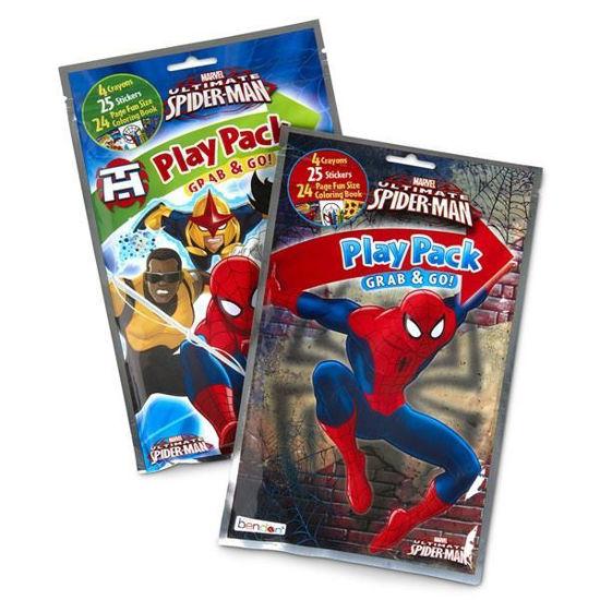Spiderman Ultimate Grab N Go Play Pack
