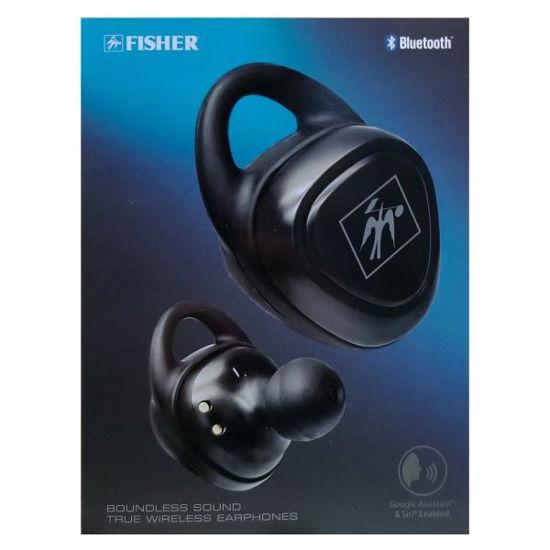 Fisher Boundless True Wireless Bt Earbuds, Blk
