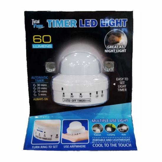 5 Set Timer Led Light-White