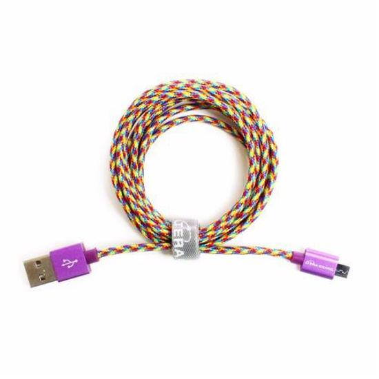 6Ft Micro Usb Cable-Rainbow