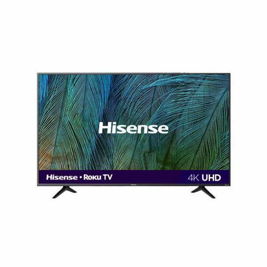 "Hisense 55R6109 55"" 4K Uhd Hdr Smart Roku Tv"