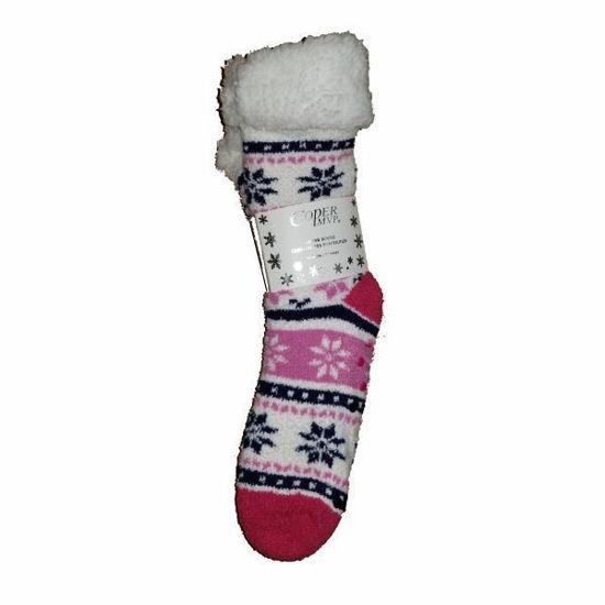Cooper Womens  Mvp Holiday Slipper Socks Size 9-11