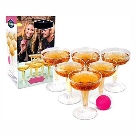 Champagne Pong Set
