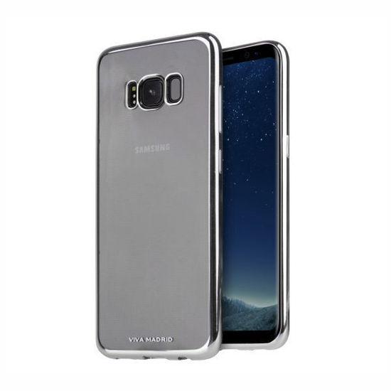 Viva Madrid-Metalico Flex Gunmetal-Galaxy S8+
