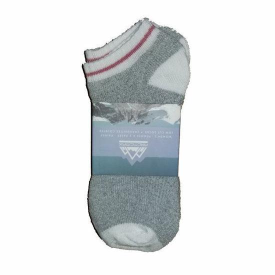 Arctic Max 3Pk Women's Low Cut Socks Size 9-11