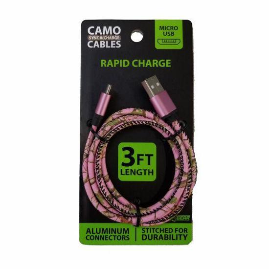 Camo Cables Micro Usb 3Ft