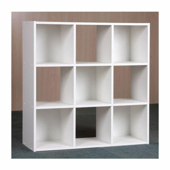 Mylex 9 Cube Organizer-White