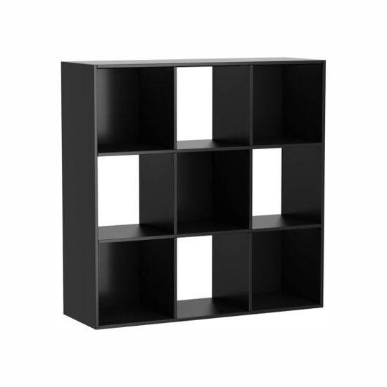 Mylex 9 Cube Organizer-Black