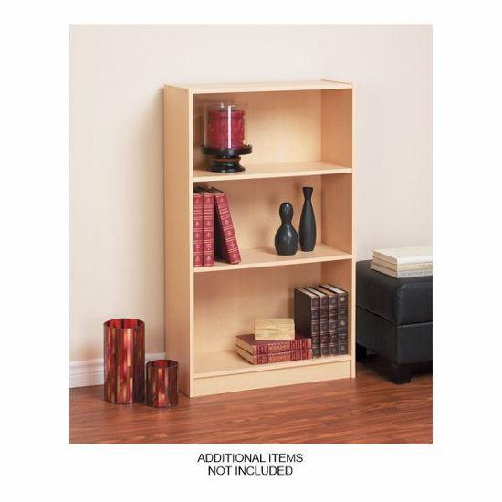 Mylex 3 Shelf Bookcase-Birch