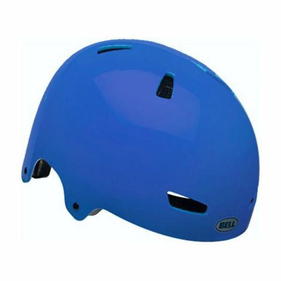 Youth Bike Helmet - Ollie Matte Blue