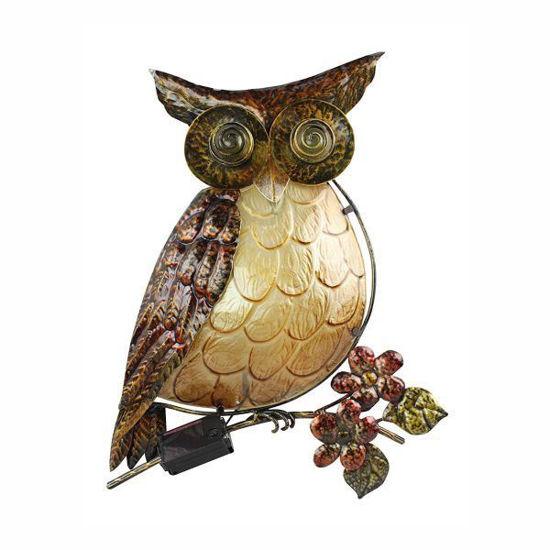 Moonrays Owl Solar Garden Accent