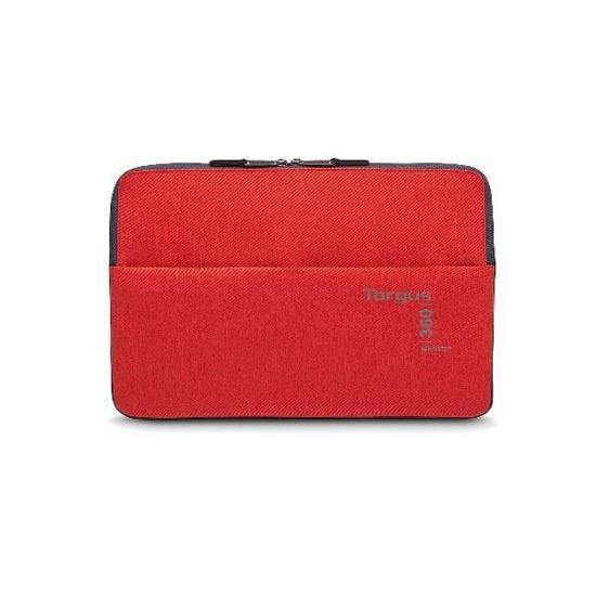 """Targus 15.6"""" 360 Perimeter Notebook Sleeve -Red"""