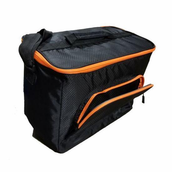 Orange Lined Cooler Bag - 36 Cans