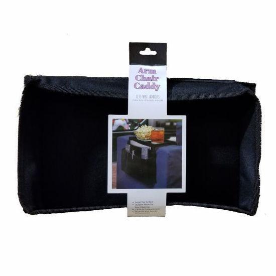 "Arm Chair Caddy 21""X12x""X1.57"" - Black"