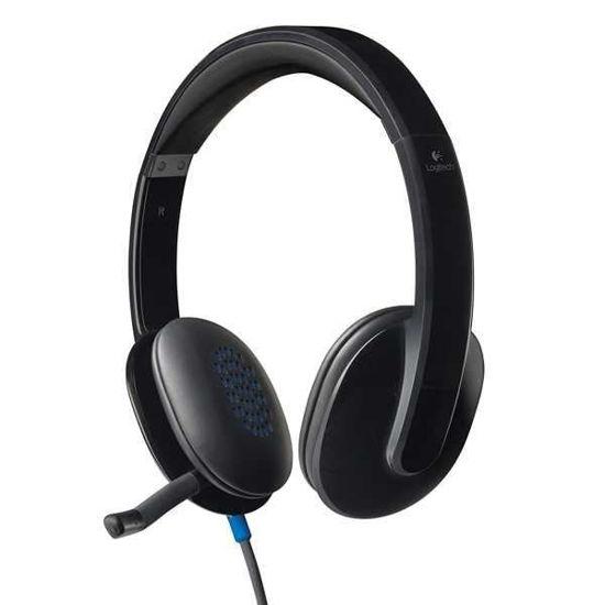 Logitech H540 Usb Headset W/Noise-Cancelling Mic