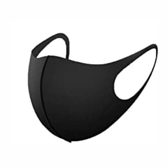 Reusable Neoprene Black Mask (Non-Medical Grade)