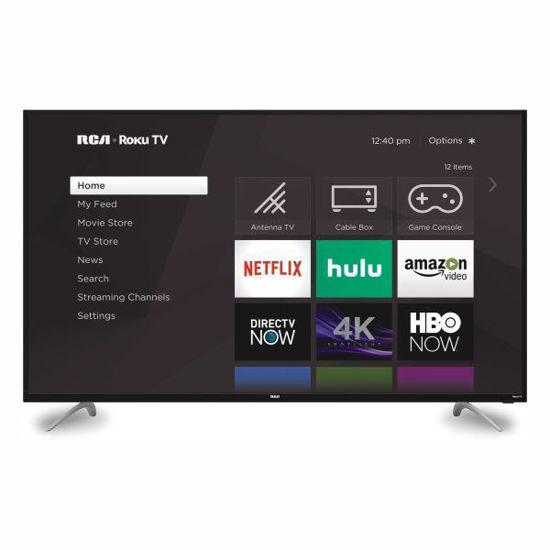 "Rca Rtru6027 60"" 4K Uhd Roku Smart Led Tv"