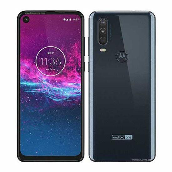 "Motorola One Action 128Gb 6.3"" Unlocked Android -Blue"