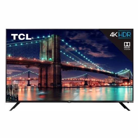 "Tcl 55R613 55"" 4K Uhd Hdr Roku Smart Led Tv"