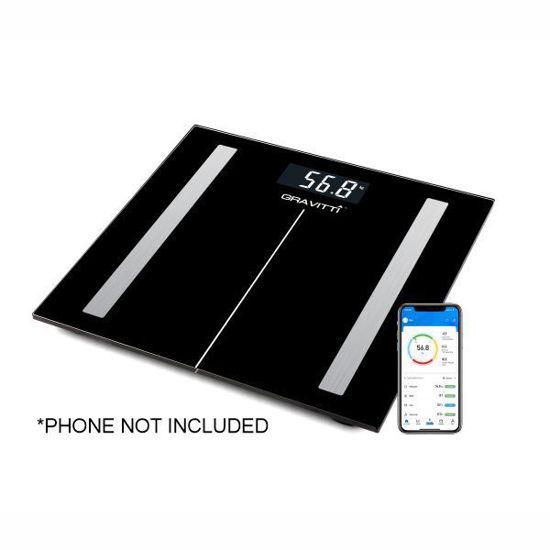 Gravitti Digital Glass Bluetooth Bathroom Scale