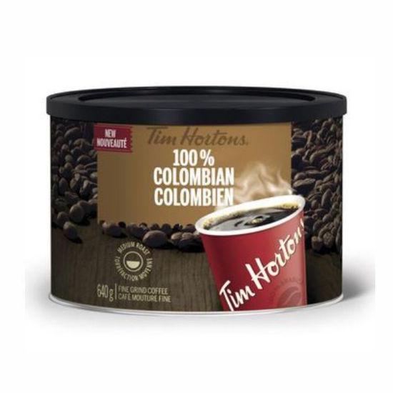 Tim Hortons Columbian (Dark Medium) Fine Grind Coffee-640G