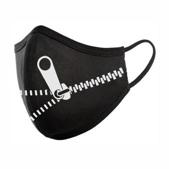 Cotton/Poly (Non Medical) Mask- Zipper