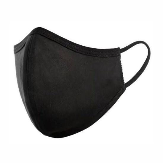 Cotton/Poly ( Non Medical) Mask Snug-Black