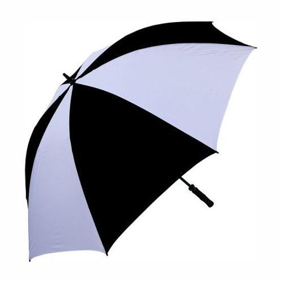 "Double Ribbed 60"" Golf Umbrella -Assorted 2 Tone"