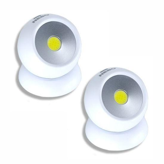 Nebo Led Directional Eye Cob Light - 2 Pack