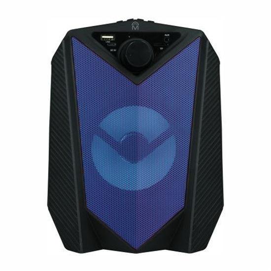 "Mental Beats Tws 4"" Pa Bluetooth Speakers W/Lights -Black Gr"