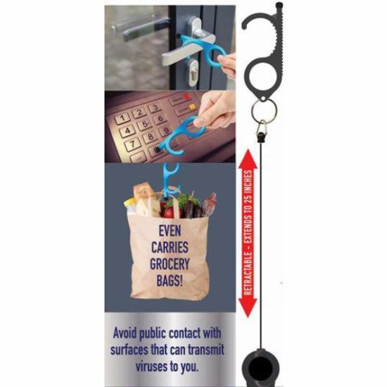 Germ Free Key Hand Tool - Aluminum