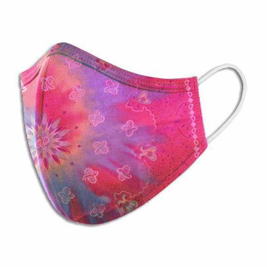 Cotton/Poly W/Filter Pocket Tie Dye Face Mask (Non-Medical)