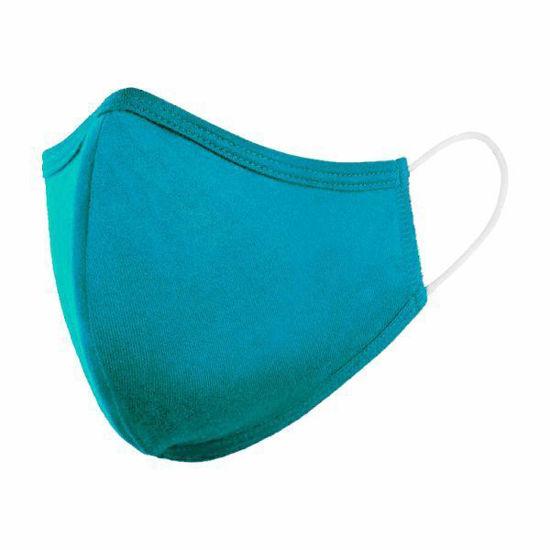 Cotton/Poly (Non Medical) Mask-Aqua