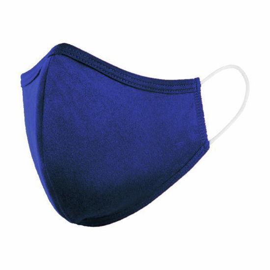 Cotton/Poly (Non Medical) Mask Snug-Navy