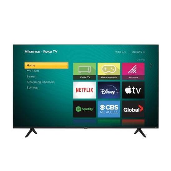 "Hisense 65R61g 65"" 4K Uhd Dolby Vision Roku Smart Led Tv"