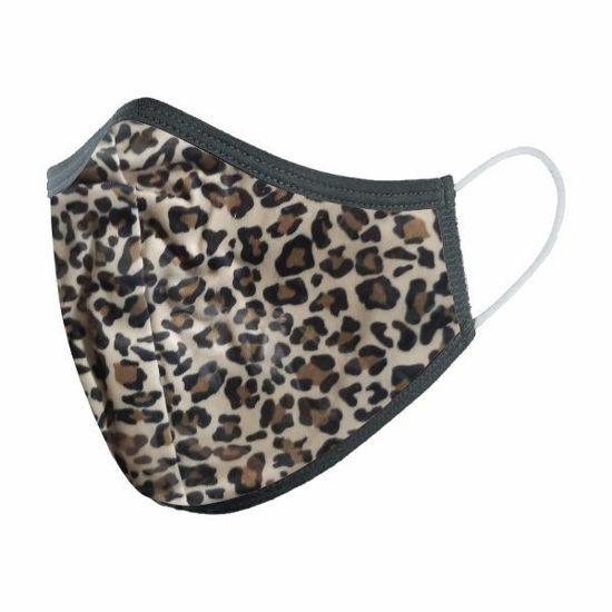 Cotton/Poly (Non Medical)Mask Snug-Leopard