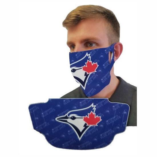 Blue Jays Polyester Adult/Kids Face Mask(Non Medical)