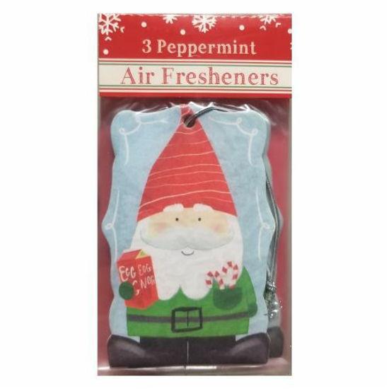 Car Freshener Gnome - Peppermint 3 Pack
