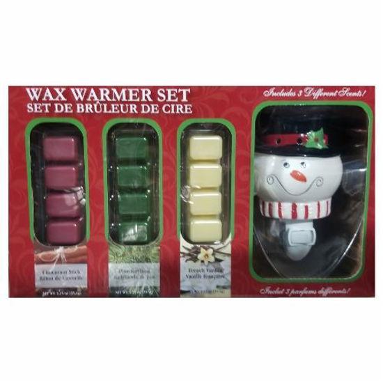 Home Sensations Holiday Wax Warmer Set