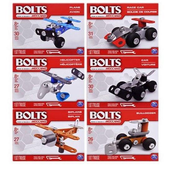 Meccano Bolts Mini Diy Vehicle Kit