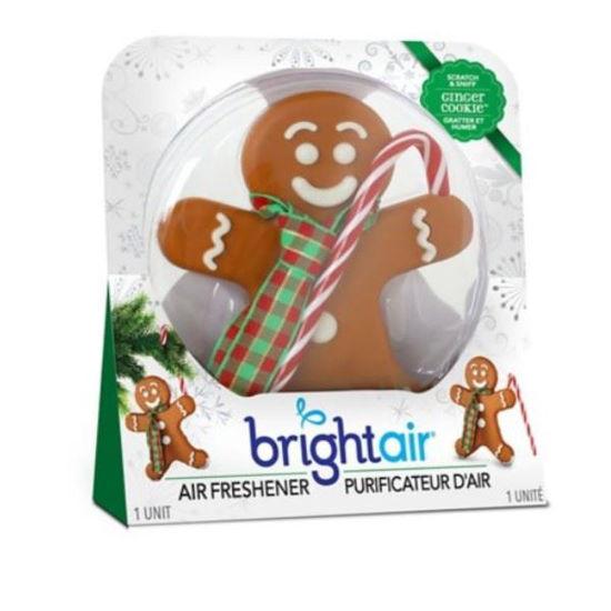 Car/Air Freshener 3D Gingerbread Man - Ginger Cookie