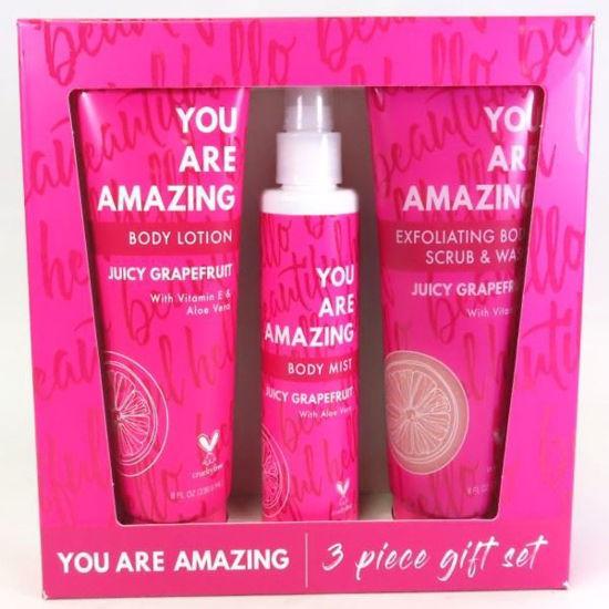 You Are Amazing Juicy Grapefruit 3Pc Gift Set