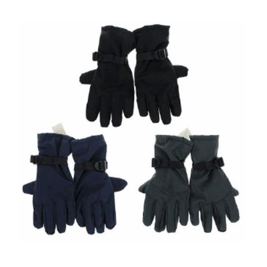 Mens Ski Gloves - Assorted Colors