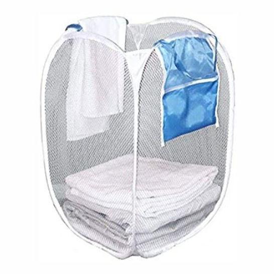 Clorox Square Pop Up Mesh Laundry Basket