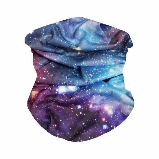 Gaiter Bandana-Blue Galaxy