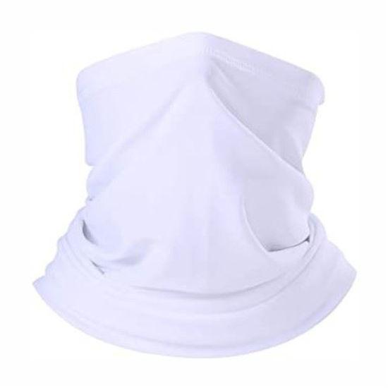 Gaiter Bandana-White