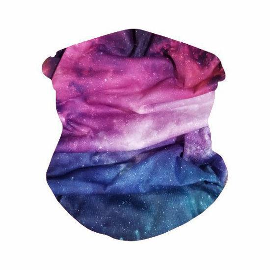 Gaiter Bandana-Pink Galaxy